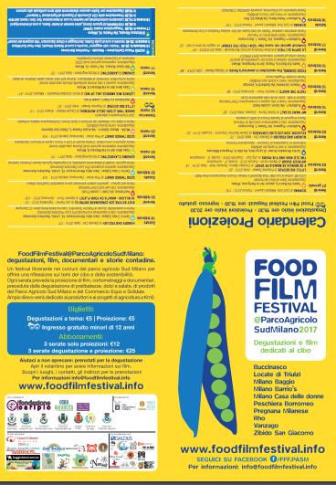 Calendario Contadine Italiane.Food Film Festival 2018 Milano Food Film Festival